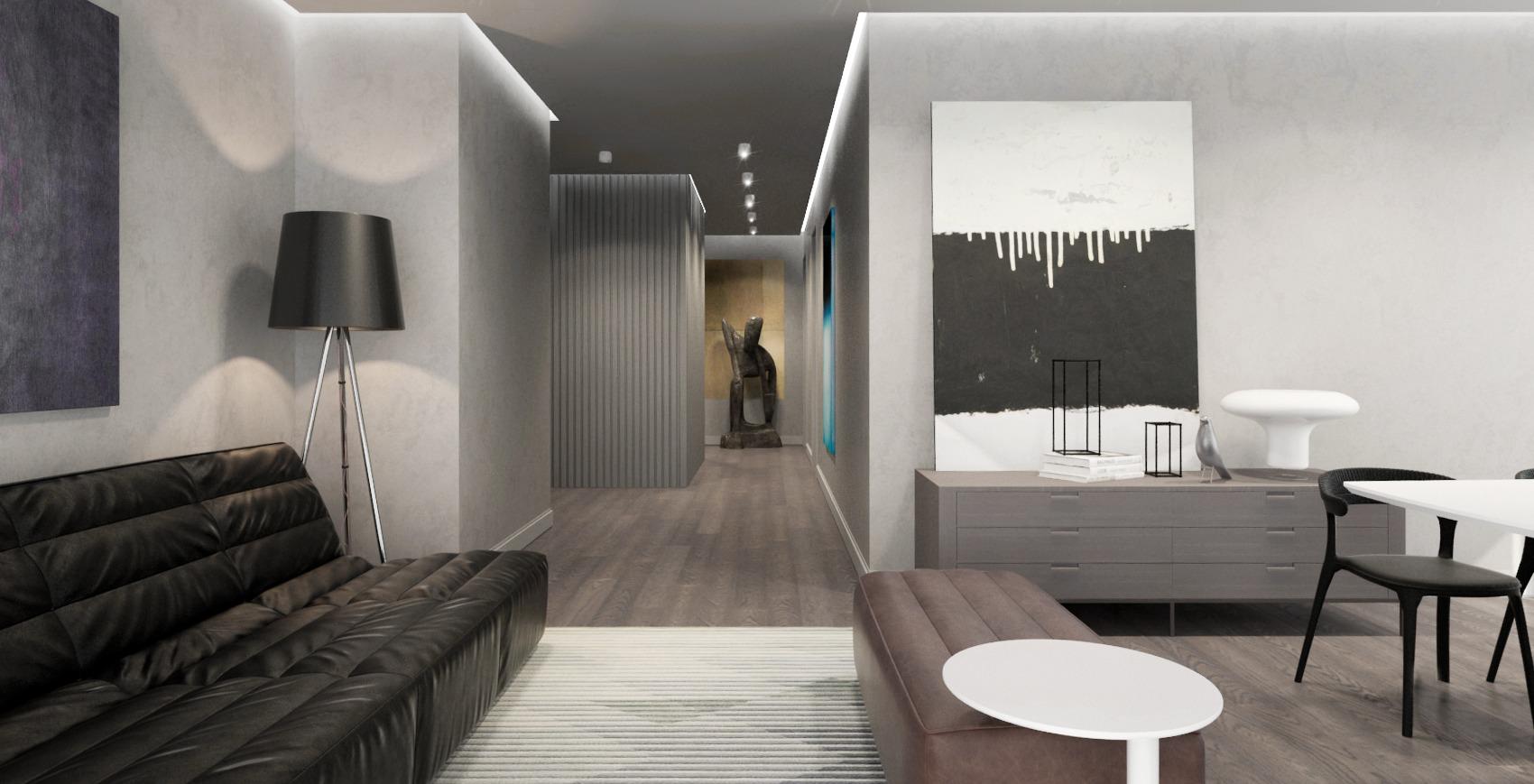 diseño interior apartamento estudio ed