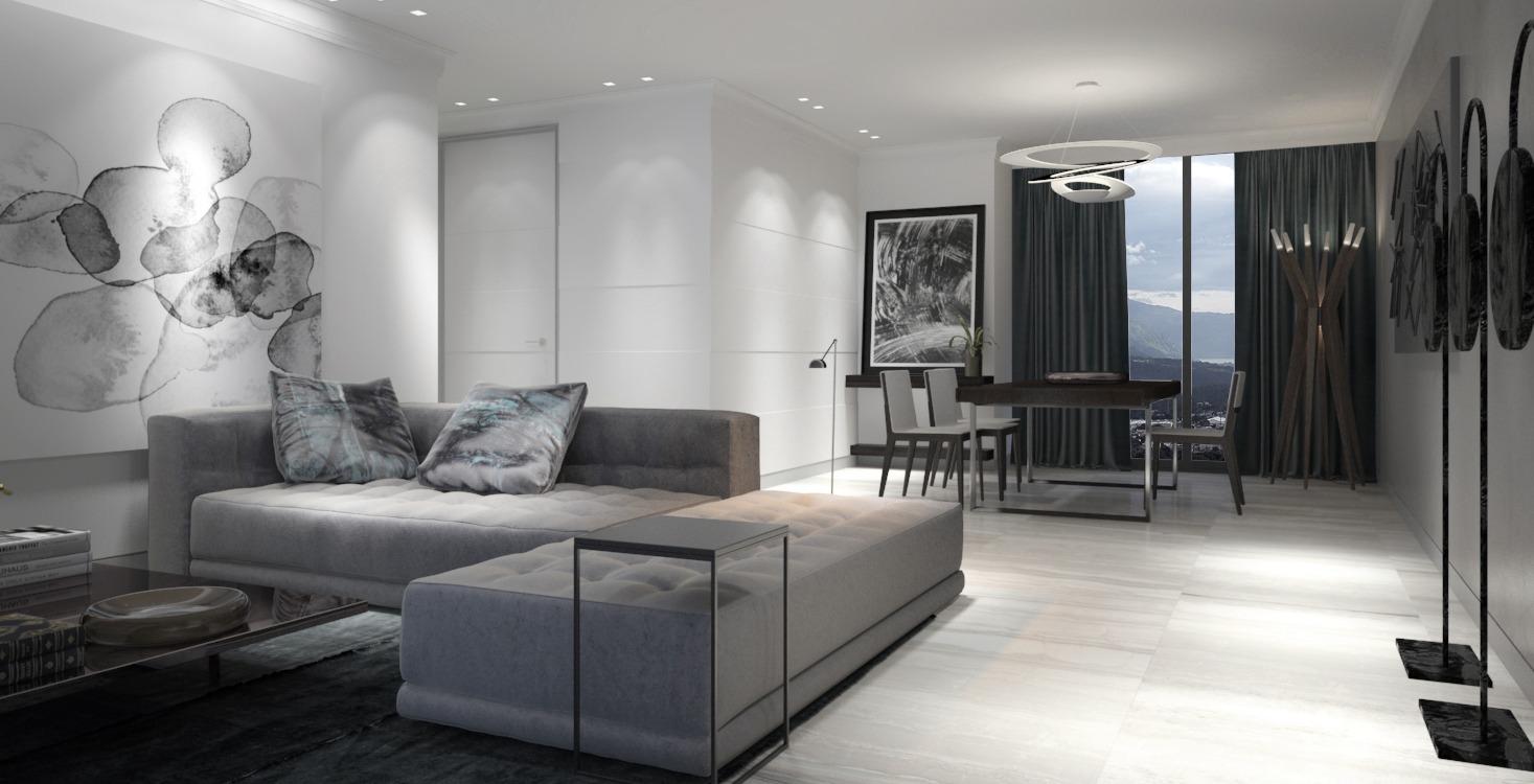diseño interior apartamentos Guatemala